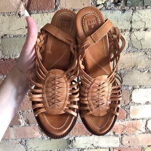 Brand New Frye Platform Sandals